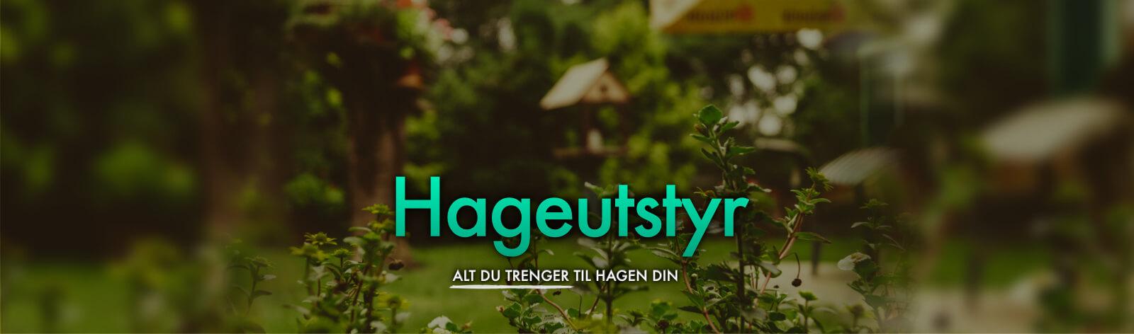 Hageutstyr
