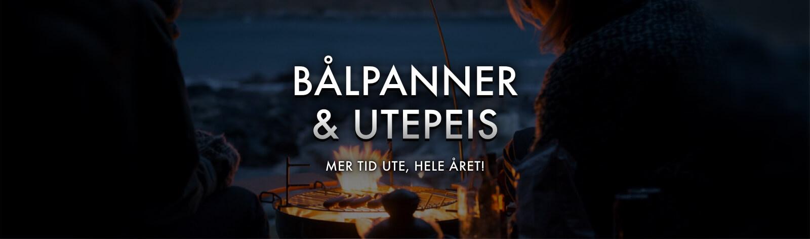 BÅLPANNE & UTEPEIS