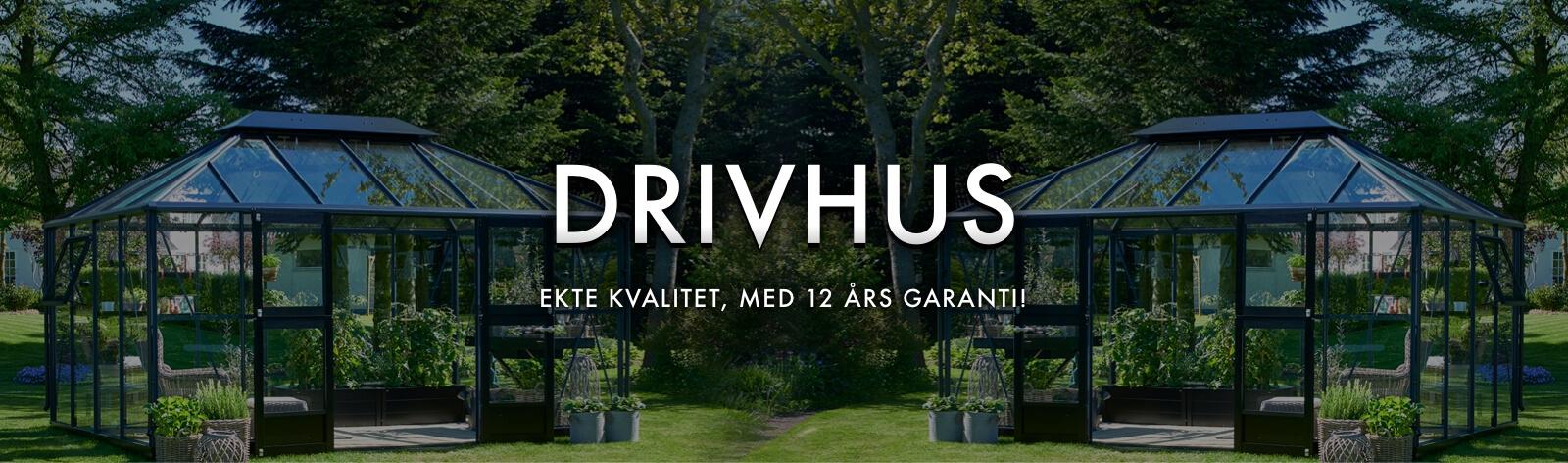 HALLS DRIVHUS