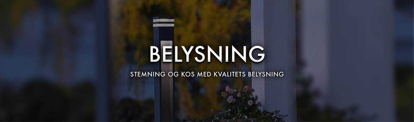 Belysning