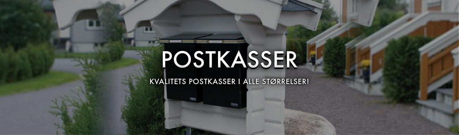 Postkasser store