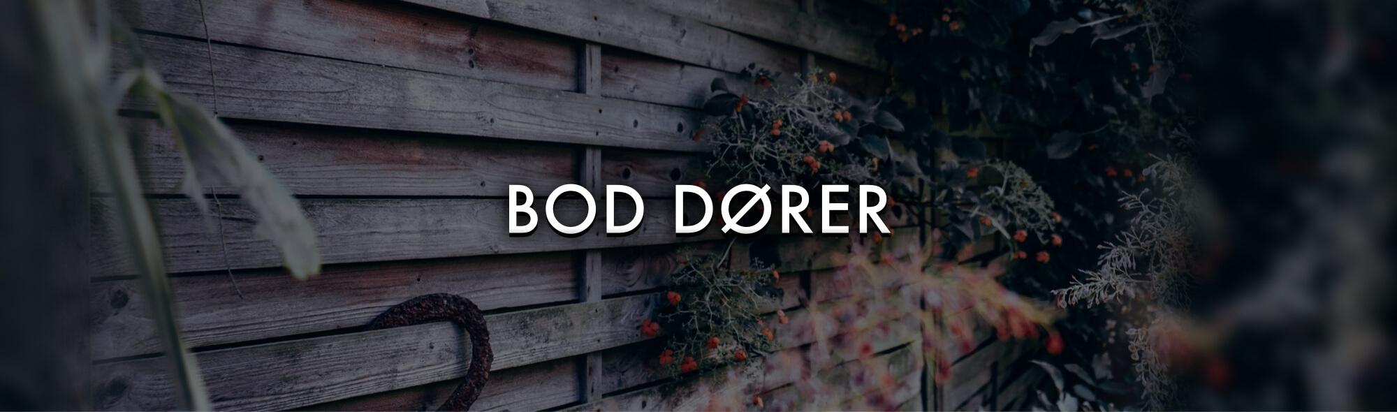 BODDØRER