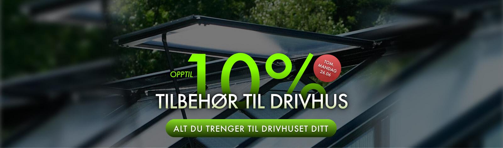Drivhus Hyller og Bord