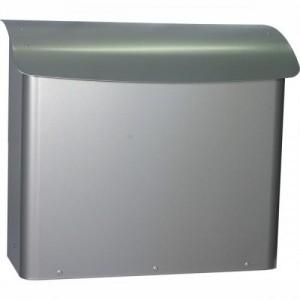 Postkasse Safepost 21 | Sølvgrå
