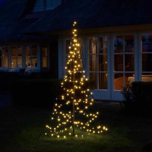 Utendørs juletre |145cm |120 LEDs