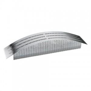 Trafoskjuler stor - børstet stål