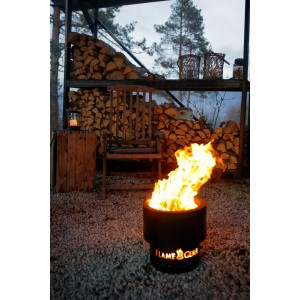 Flammetønna | Sort | 48cm